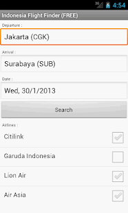 Indonesia Flight Finder - screenshot thumbnail