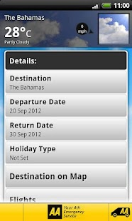 AA Travel Companion - screenshot thumbnail