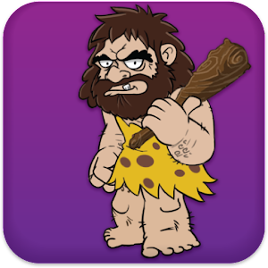 Talking Caveman Icon