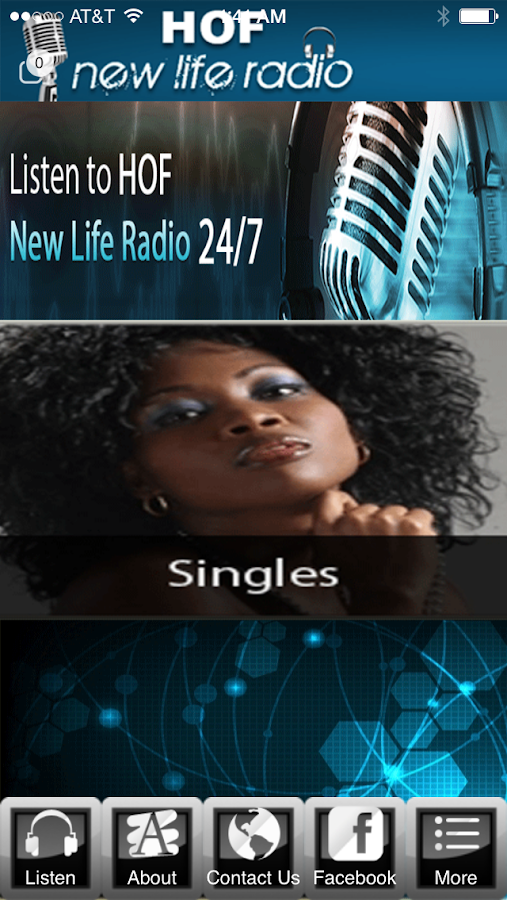 HOFNEWLIFE RADIO- screenshot