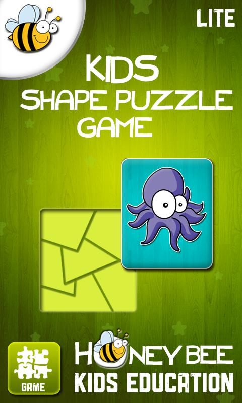 Kids Shape Puzzle Game Lite - screenshot