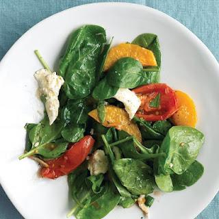 Roasted Vegetable Salad with Mozzarella.