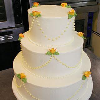 Lemon Raspberry Wedding Cake Recipe