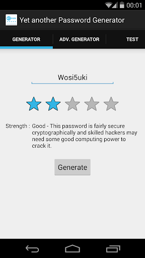 YaPwG - Password Generator