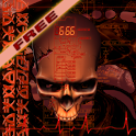 Biomechanical Skull Free LWP icon