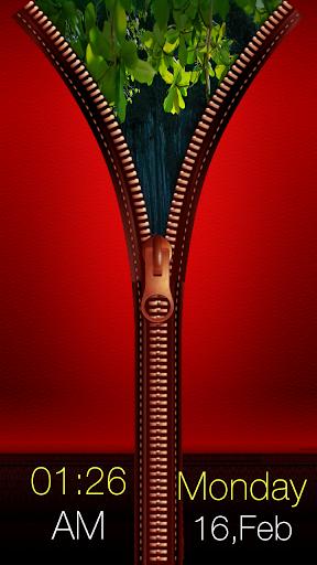 免費娛樂App|紅色拉鍊鎖屏|阿達玩APP
