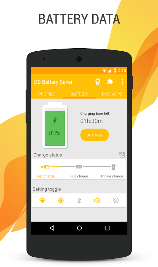 Deep Sleep Battery Saver – Screenshot