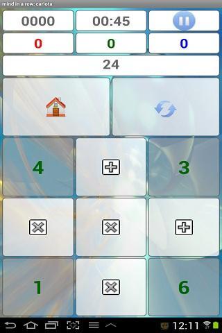 mind calculator training - screenshot