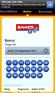 SwissLotto (Switzerland Lotto) - screenshot thumbnail