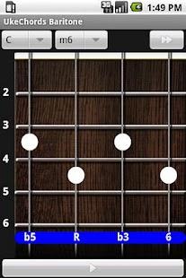 玩書籍App|Uke Chords Baritone免費|APP試玩