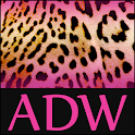 Pink Leopard Theme for ADW icon