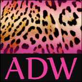 Pink Leopard Theme for ADW