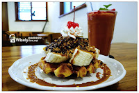 chef's cafe waffle 瓦福