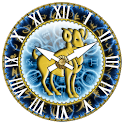 zZodiac Aries clock! logo