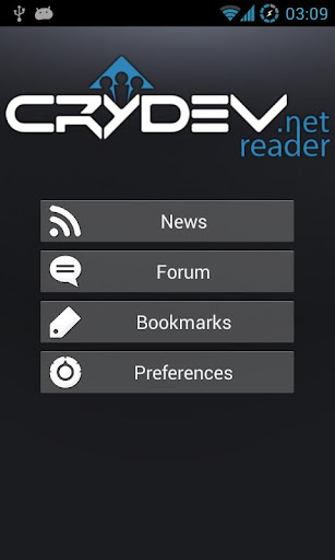 Crydev.net Reader