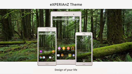 Theme eXPERIAnZ - Forest