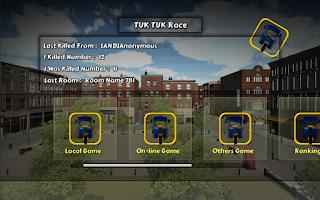Screenshot of Tuk-Tuk Shoot Race