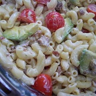 Sarah's Pasta Salad.