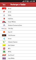 Screenshot of Prepaid Recharge - Mobile, DTH