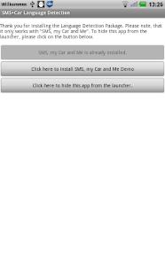 SMS+Car Language Detection
