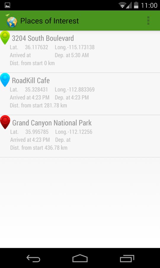 MyGeoTrails- screenshot