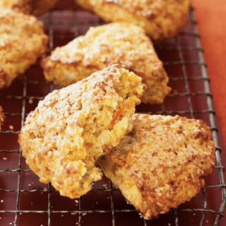 Gingered Carrot Scones