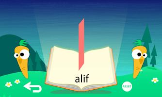 Screenshot of Alif Ba Ta HD Free