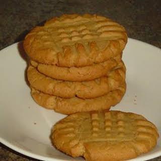 Favorite Peanut Butter Cookies.