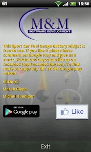 Sport Car Fuel Gauge Battery - screenshot thumbnail