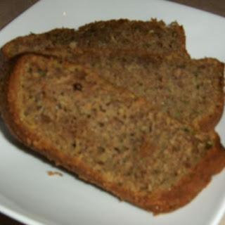 Homemade Zucchini Bread.