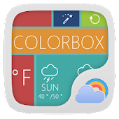COLORBOX THEME GO WEATHER EX