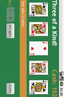 Screenshot of Free Draw Poker Reloaded