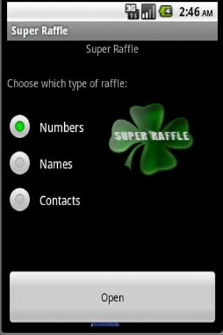 Super Raffle (sweepstakes)- screenshot