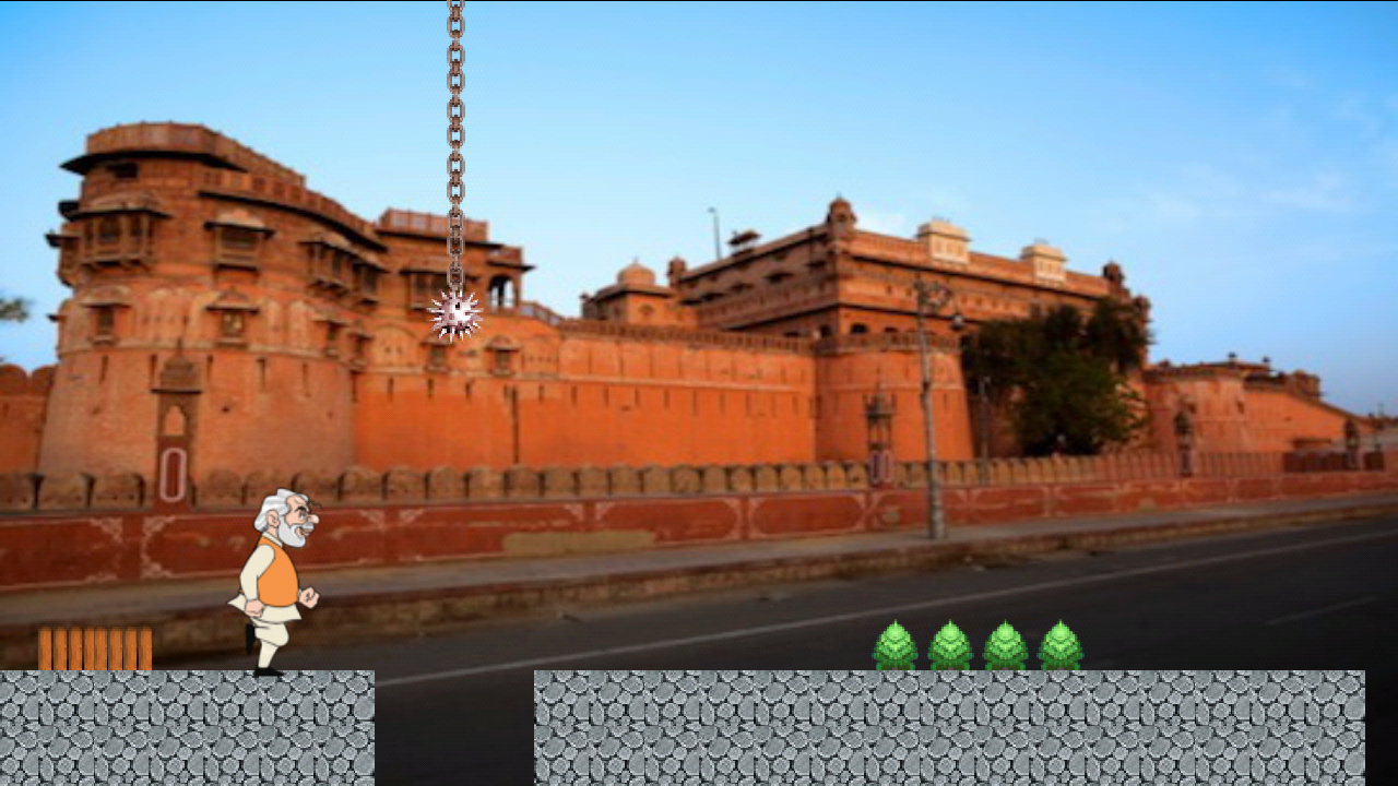 Modi Run- screenshot