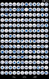 Clean Blue - Icon Pack Screenshot 8