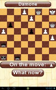 Checkers from Italy - Damone screenshot
