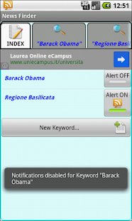 News Finder - screenshot thumbnail