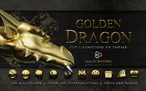 GO Launcher theme G Dragon
