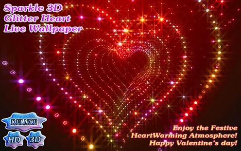 Sparkle Glitter Heart HD - screenshot thumbnail