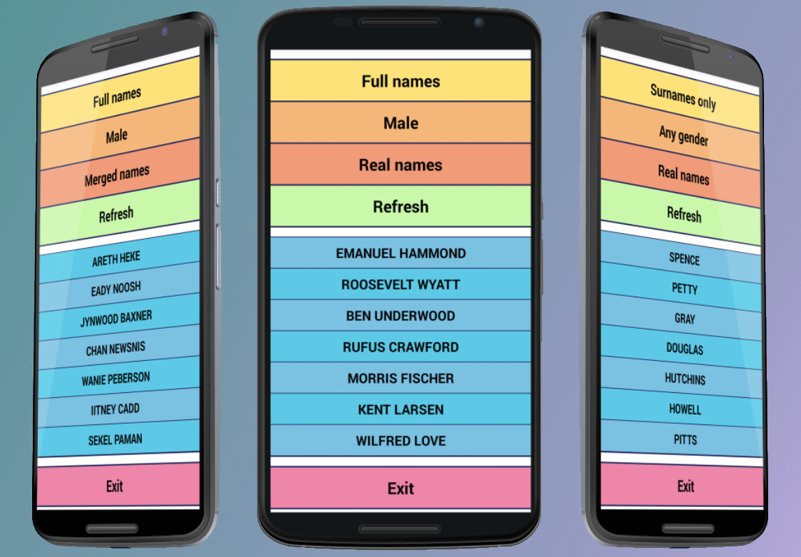 Name Generator: Android Apps On Google Play