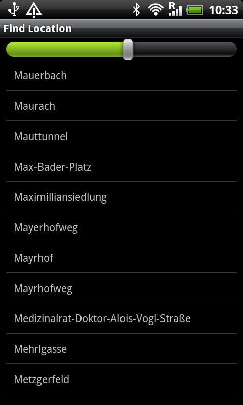 Salzburger Sportwelt Map- screenshot