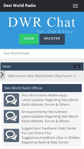 Desi World Radio Chat Forum