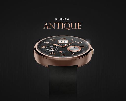 Antique watchface by Klukka