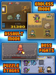 Pixel Defenders Puzzle DEMO - screenshot thumbnail