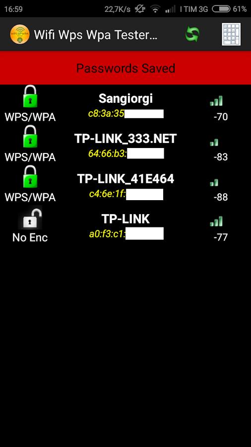 Wps Wpa Tester Premium: Trovare le password del WiFi da Android