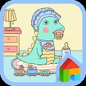 아기공룡용용 baby 도돌런처 테마 icon