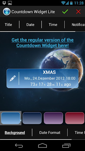 Countdown Widget Lite