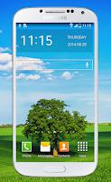 Screenshot of Transparent Screen Wallpaper