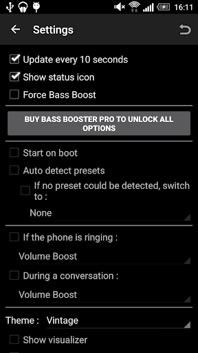 Bass Booster 3.1.2 screenshots 3