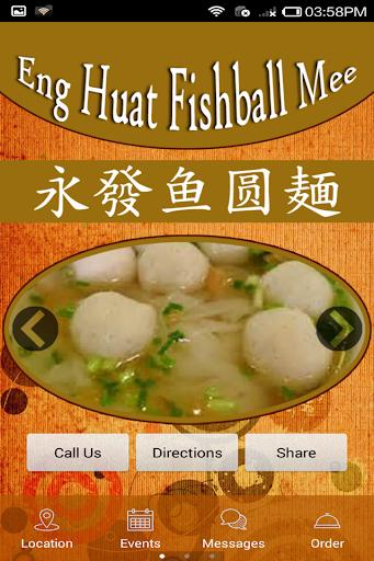 Eng Huat Fishball Mee